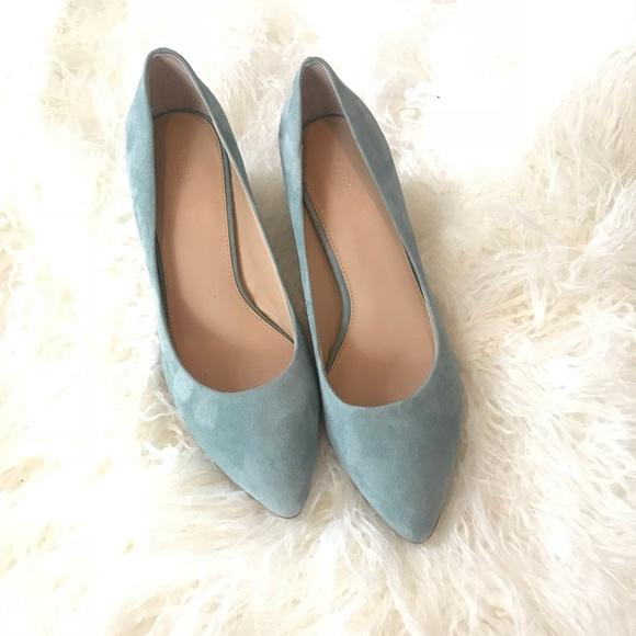 a0a2b67e78a8 Botkier Shoes - BOTKIER STELLA PUMP TEAL BLUE SUEDE SHOES SZ 9.5